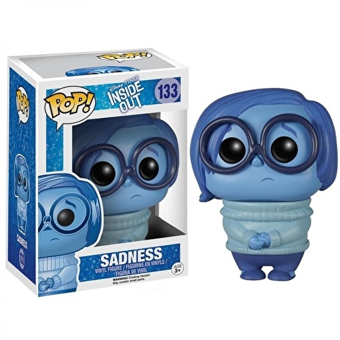Funko Disney/Pixar Inside Out Sadness POP Renkli
